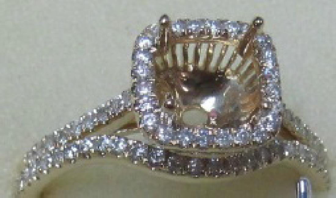 0.51CTW Diamond Engagement  Ring in 14K Yellow Gold