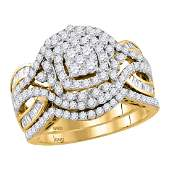 148 CTW Diamond Bridal Wedding Engagement Ring 14KT