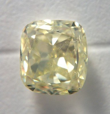 Diamond Colored Cushion 1.16cts FLY SI2 GIA