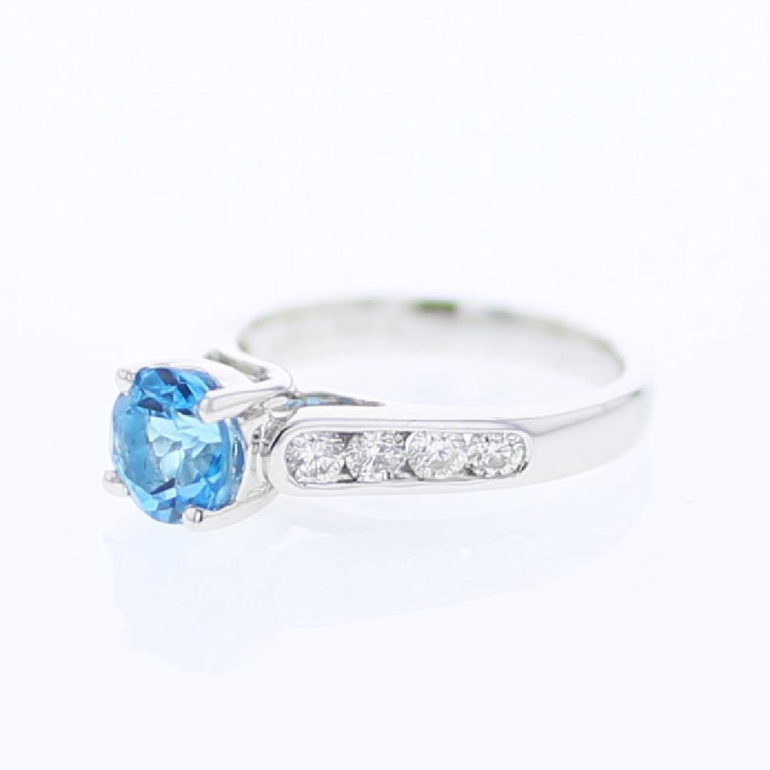 1.68 CTW 14K White Gold Ladies Ring
