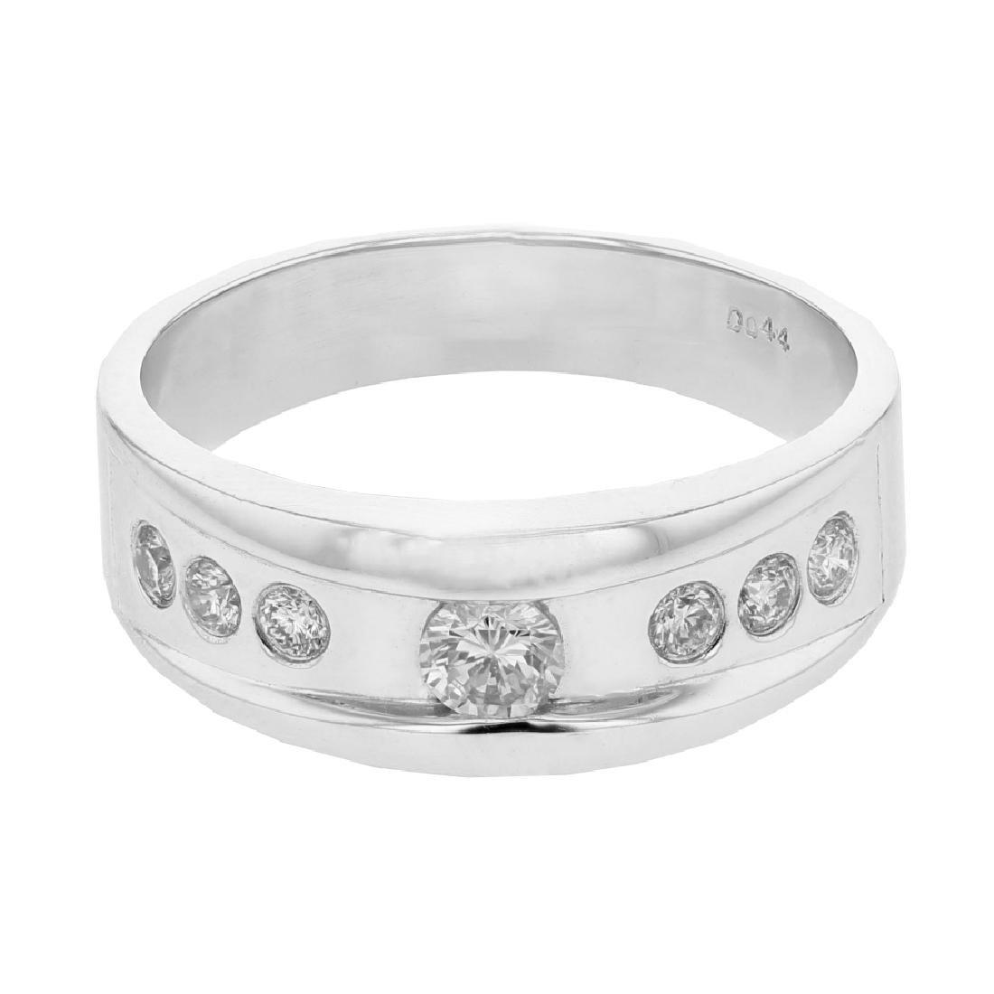 0.44 CTW 14K White Gold Ladies Ring
