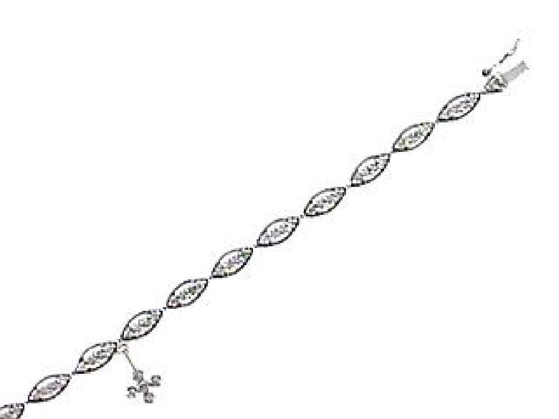 14K White Gold 1.27CTW Diamond Tennis Bracelet