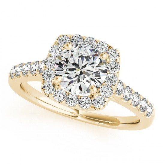 Genuine 1.10 CTW Certified Diamond Bridal Solitaire
