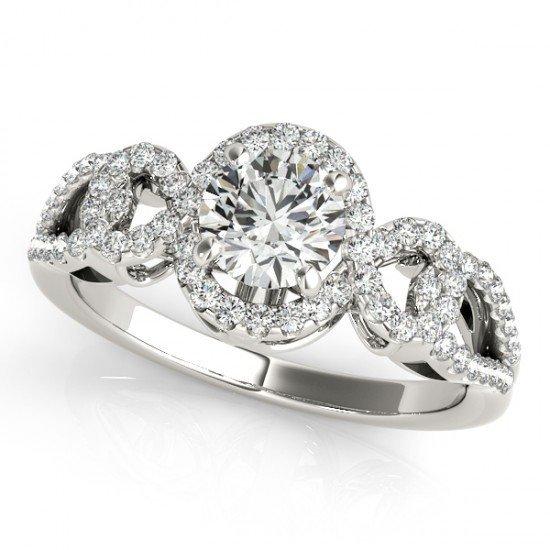 Genuine 1.15 CTW Certified Diamond Bridal Solitaire