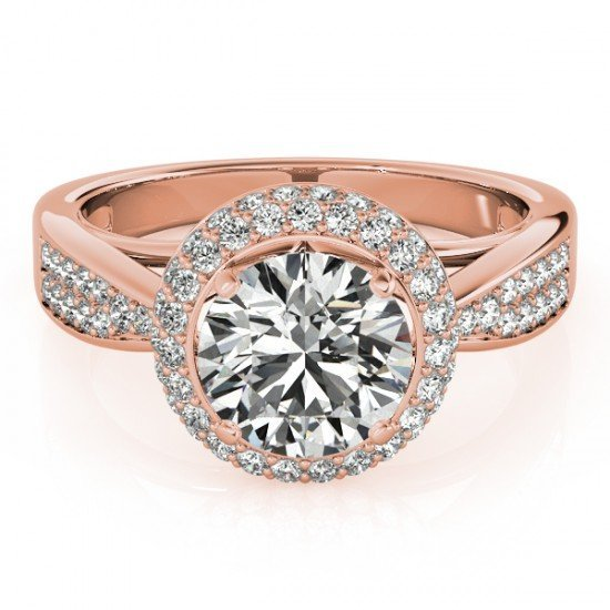 Genuine 2.15 CTW Certified Diamond Bridal Solitaire