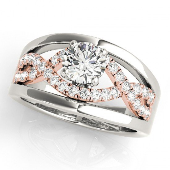 Genuine 1.05 CTW Certified Diamond Solitaire Bridal