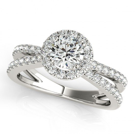 Genuine 1.36 CTW Certified Diamond Bridal Solitaire