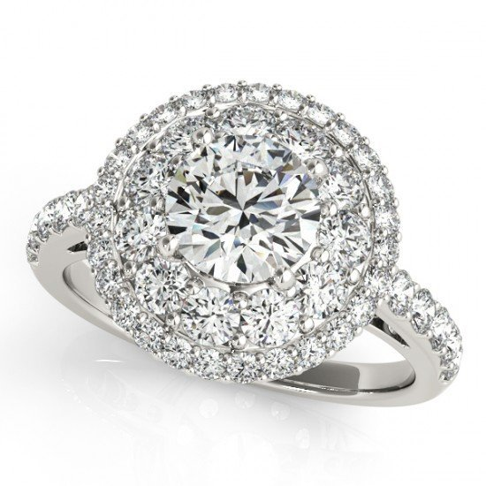 Genuine 2.09 CTW Certified Diamond Bridal Solitaire