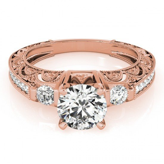 Genuine 1.63 CTW Certified Diamond Solitaire Bridal