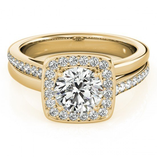 Genuine 0.85 CTW Certified Diamond Bridal Solitaire