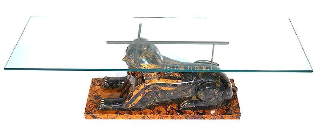 "MAITLAND SMITH Sphinx Tessellated 60"" Coffee Table"