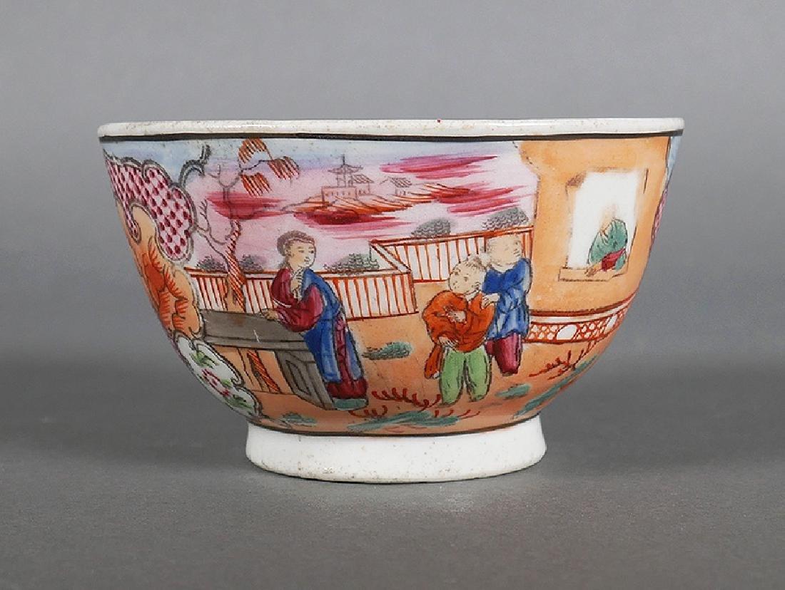 Circa 1795 New Hall Porcelain Handleless Cup - 3