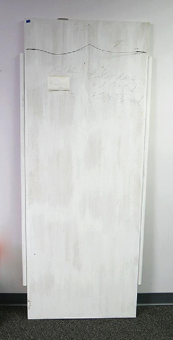 ZABOJ B KULHAVY Large Mixed Media Painting 32x78 - 6