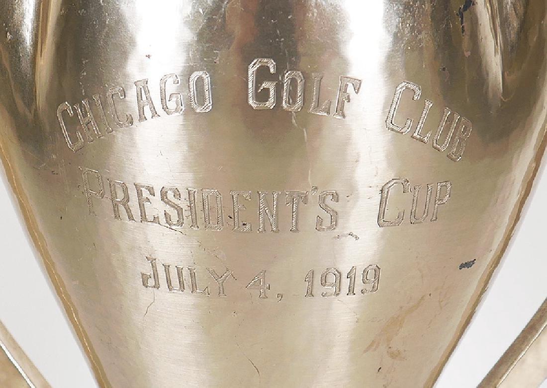 Lebolt Arts & Crafts Chicago Sterling Golf Trophy - 2