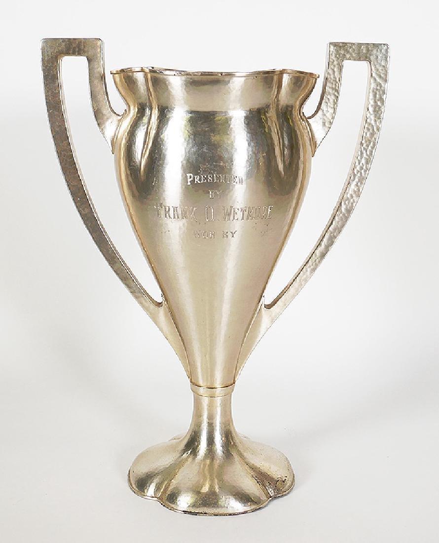 Lebolt Arts & Crafts Chicago Sterling Golf Trophy - 4