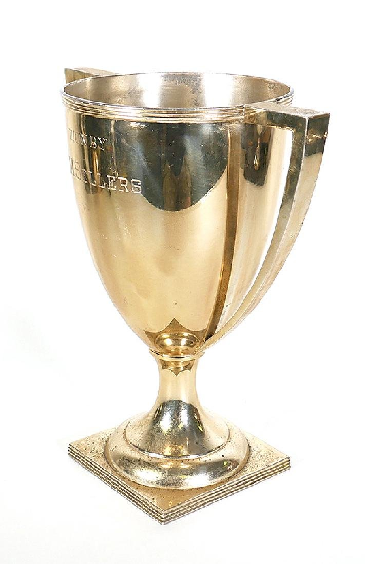 1911 Sterling Silver Chicago Golf Club Trophy 38oz - 5