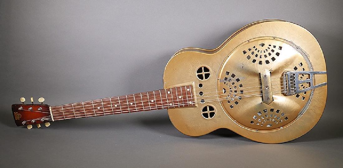 Vintage Dobro 1936 Metal Body Resonator Guitar
