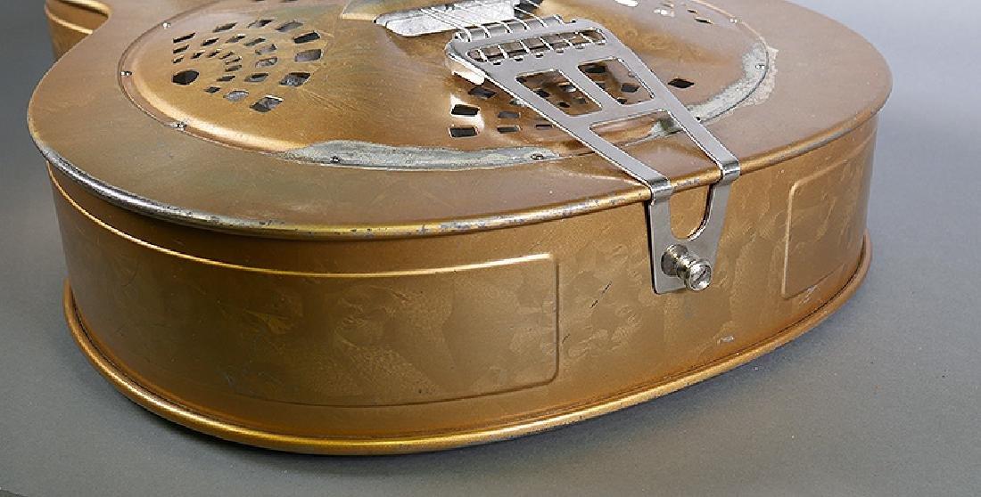 Vintage Dobro 1936 Metal Body Resonator Guitar - 4