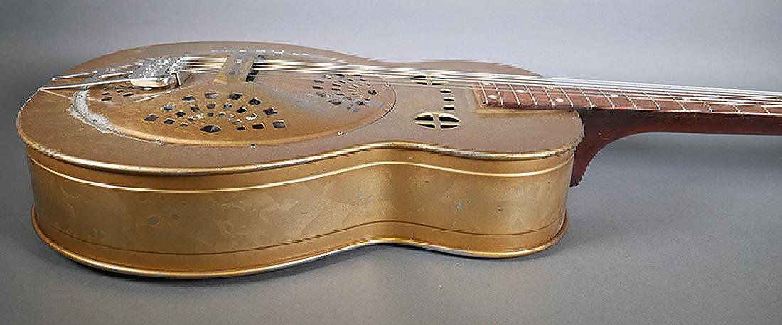 Vintage Dobro 1936 Metal Body Resonator Guitar - 5