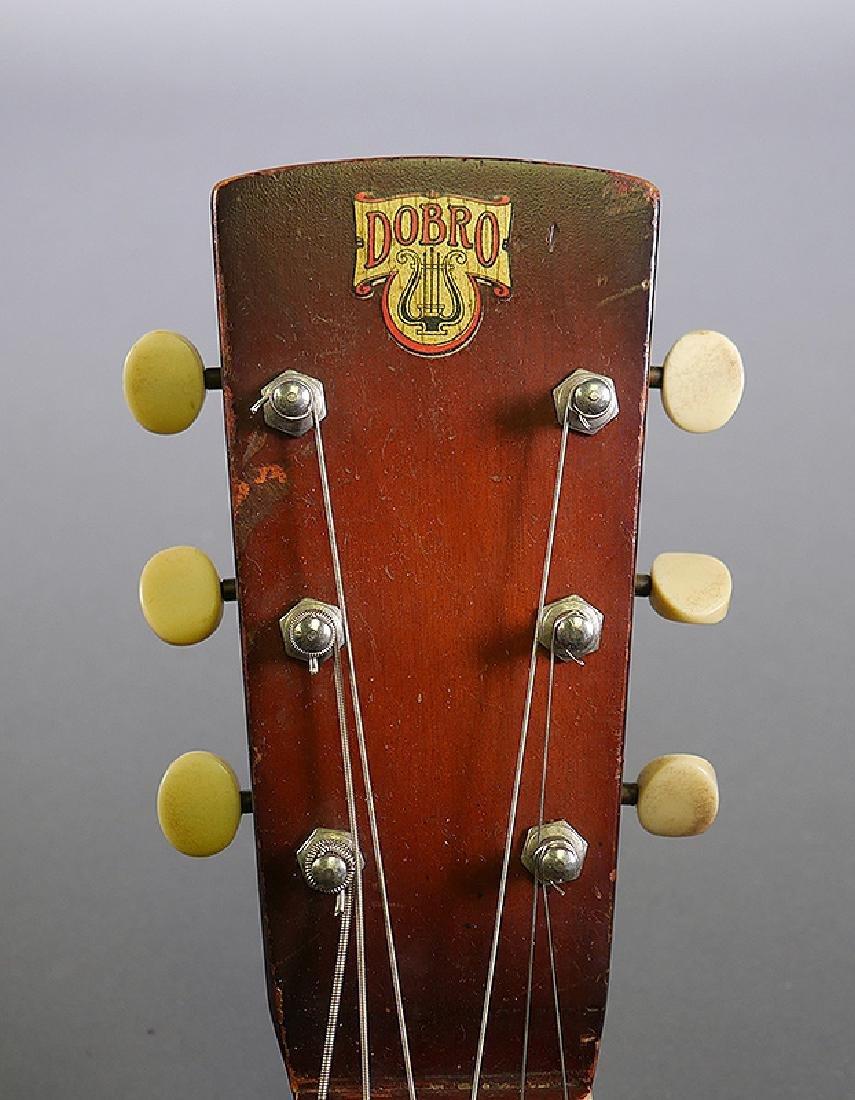 Vintage Dobro 1936 Metal Body Resonator Guitar - 6