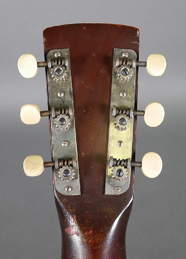 Vintage Dobro 1936 Metal Body Resonator Guitar - 9