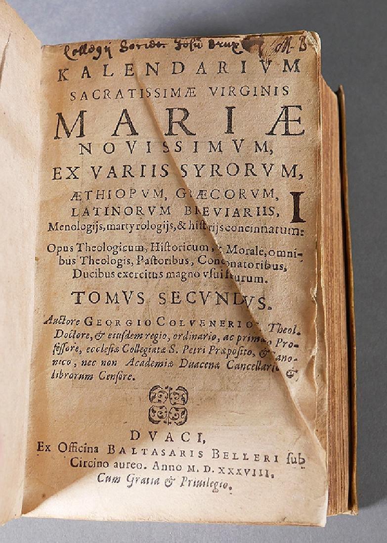 1538 Book, Calendar of the Virgin Mary, Vellum - 4