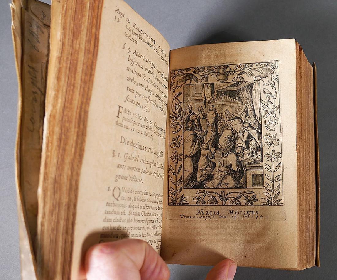 1538 Book, Calendar of the Virgin Mary, Vellum - 6