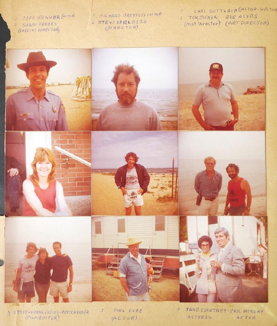 """Jaws Movie Scrapbook, by """"Bad Hat Harry"""" Actor"""