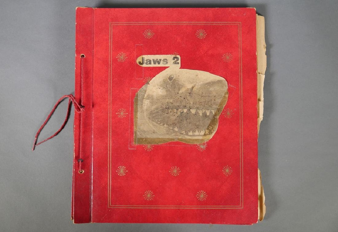 Jaws 2 Scrapbook of Bad Hat Harry Actor Al Wilde