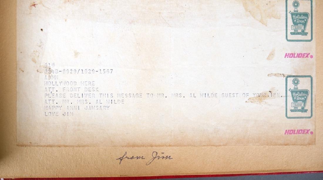 Jaws 2 Scrapbook of Bad Hat Harry Actor Al Wilde - 6