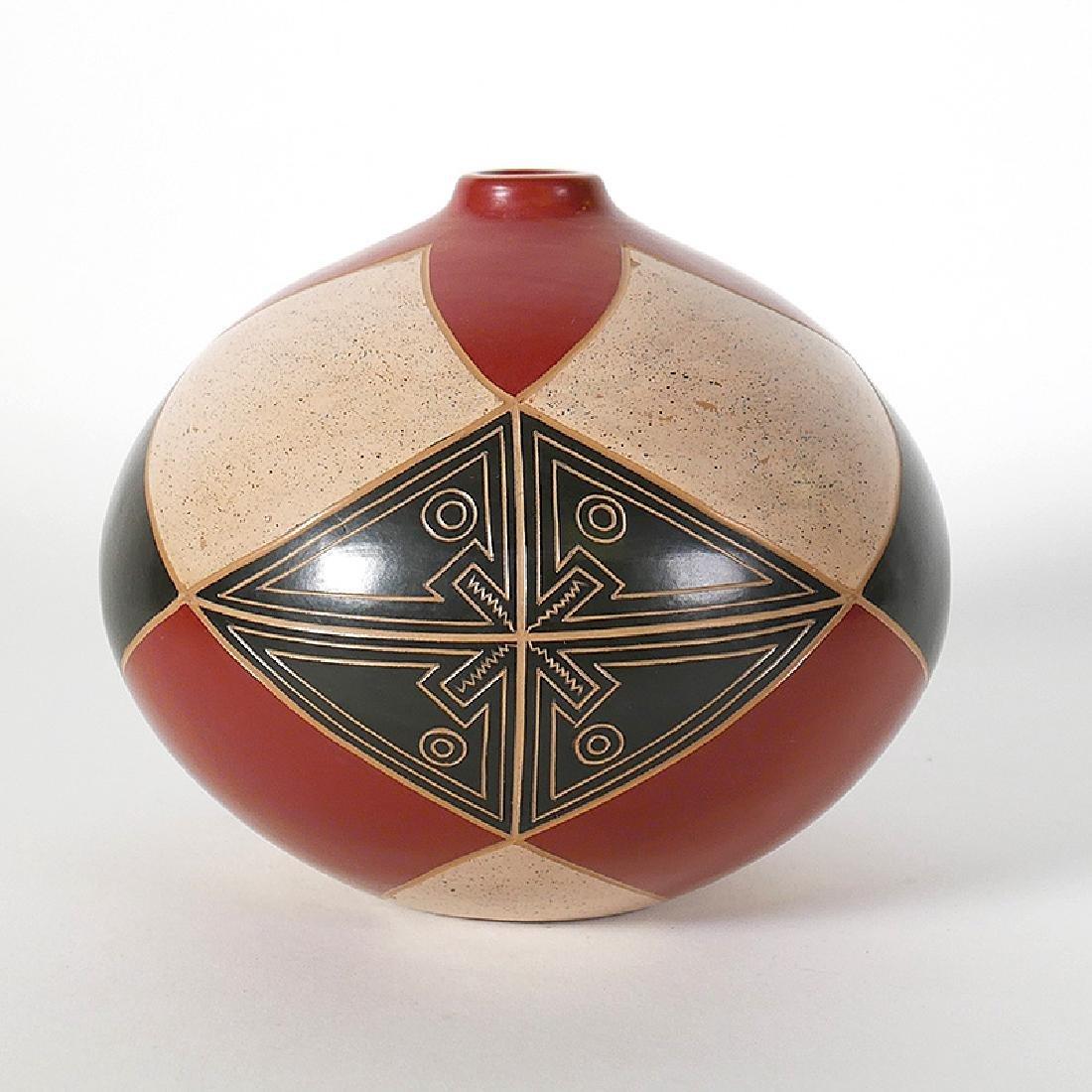 """Enmanuel Maldonado Geometric Vase Seed Pot 5"""""""