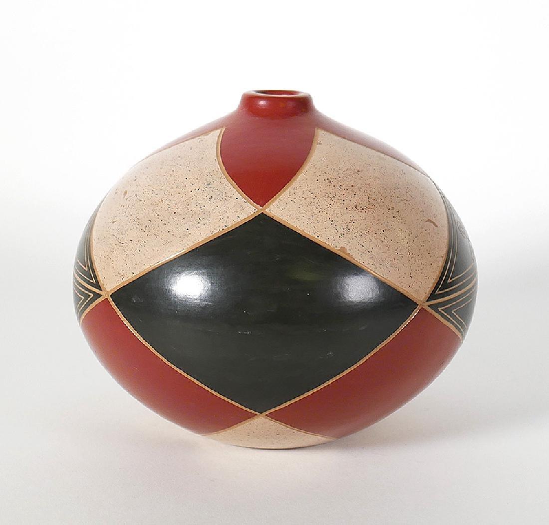 """Enmanuel Maldonado Geometric Vase Seed Pot 5"""" - 2"""