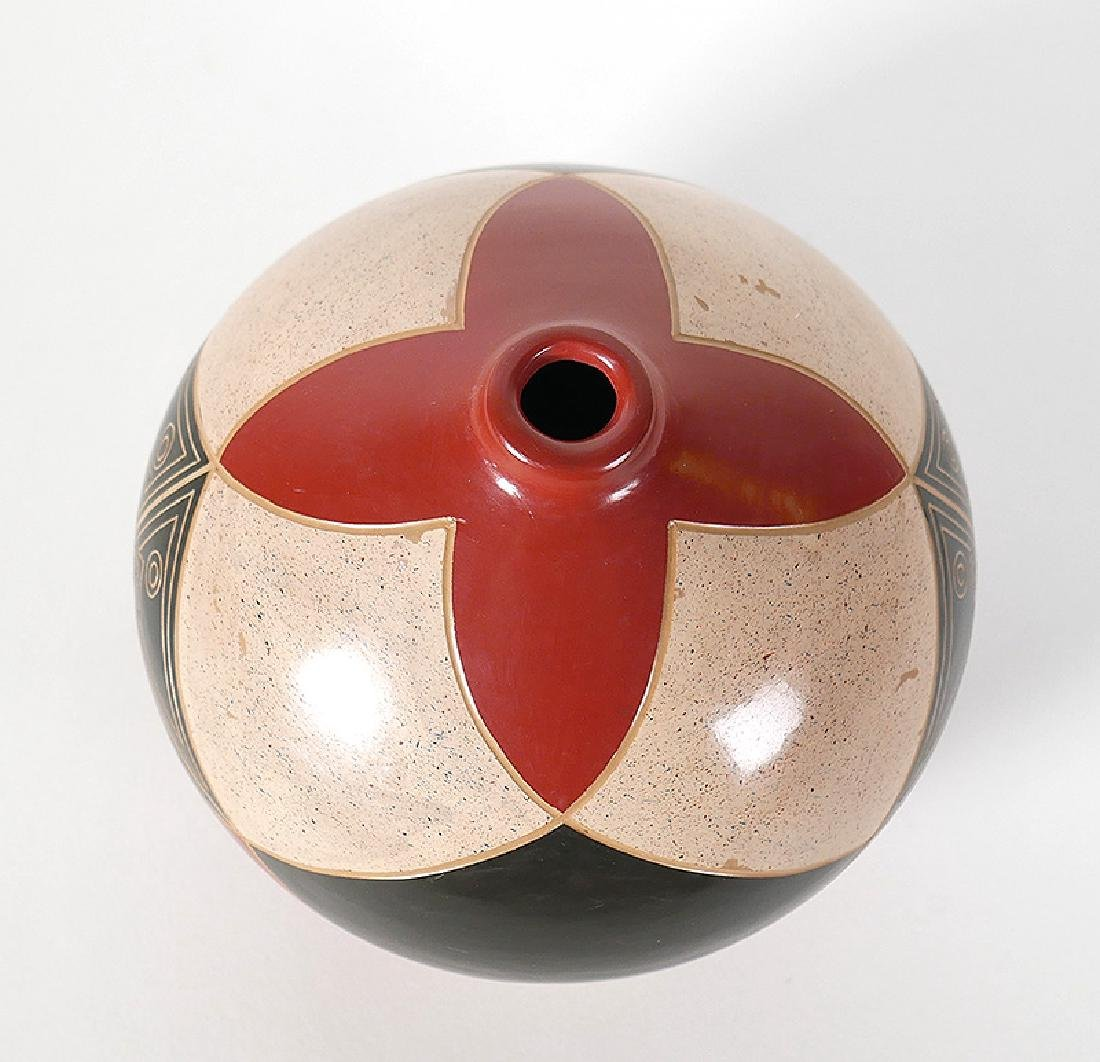 """Enmanuel Maldonado Geometric Vase Seed Pot 5"""" - 3"""