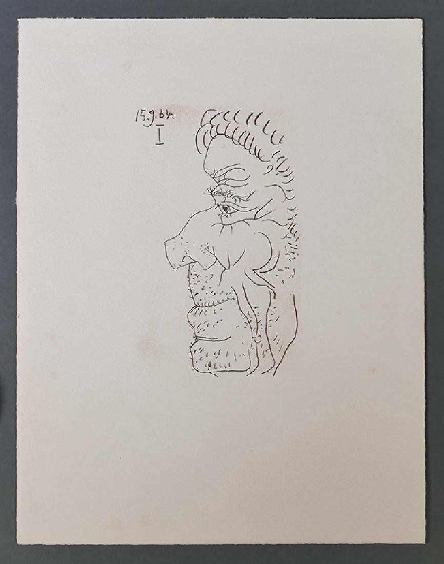 PABLO PICASSO Lithograph Le Gout de Bonheur
