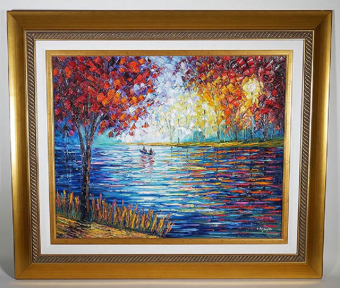 Slava Ilyayev Original Acrylic Painting on Canvas