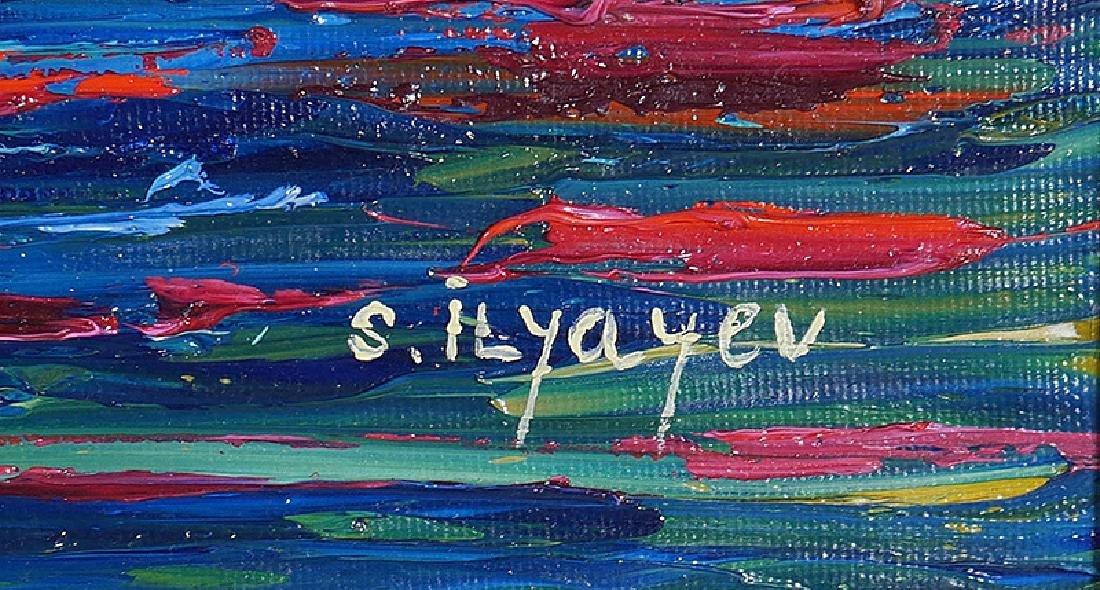 Slava Ilyayev Original Acrylic Painting on Canvas - 3