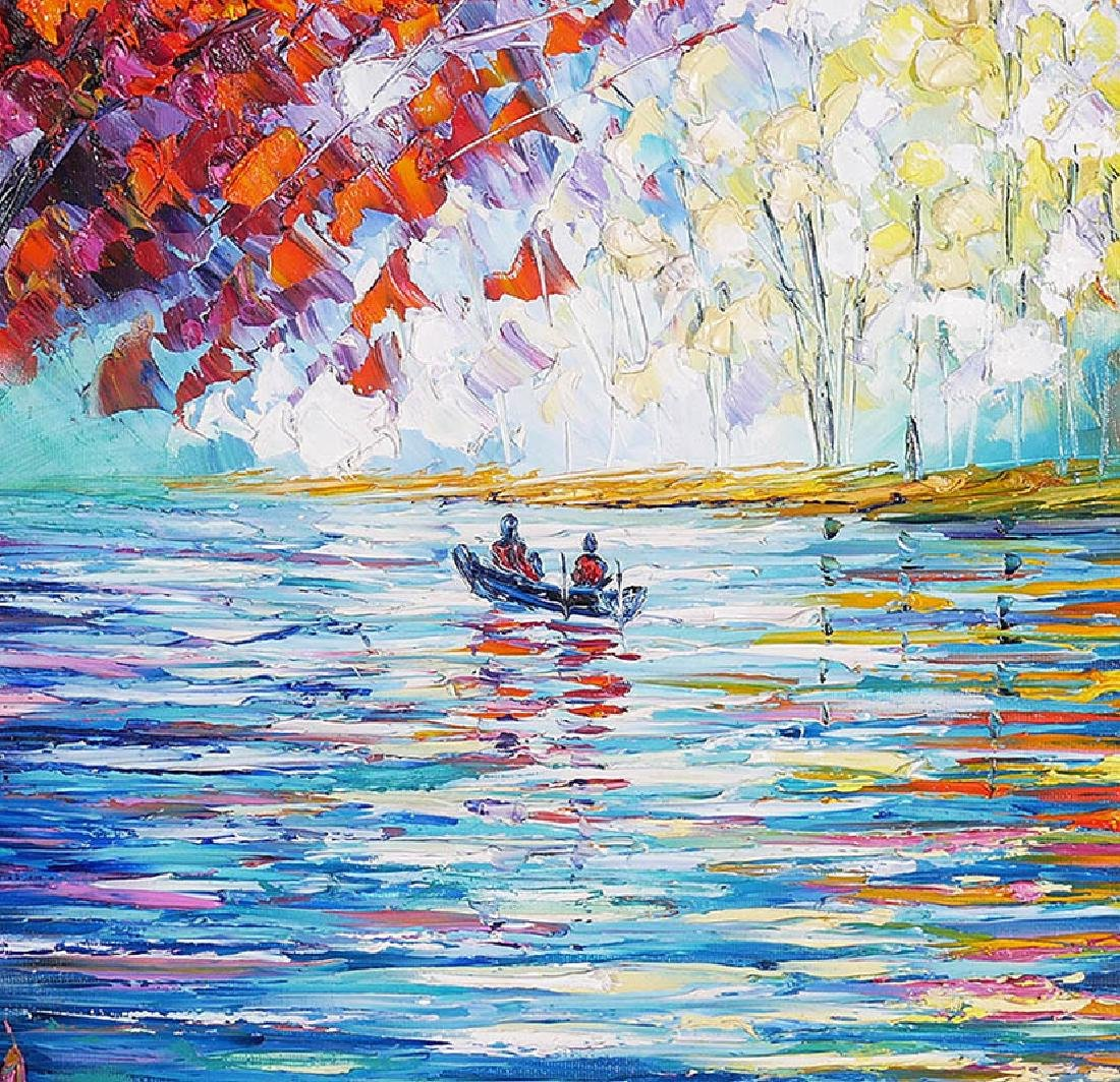 Slava Ilyayev Original Acrylic Painting on Canvas - 4