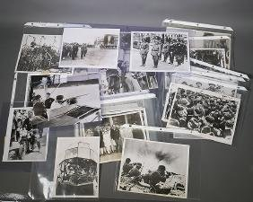 30 WWII Period Press Photos Hitler Nazis Mussolini