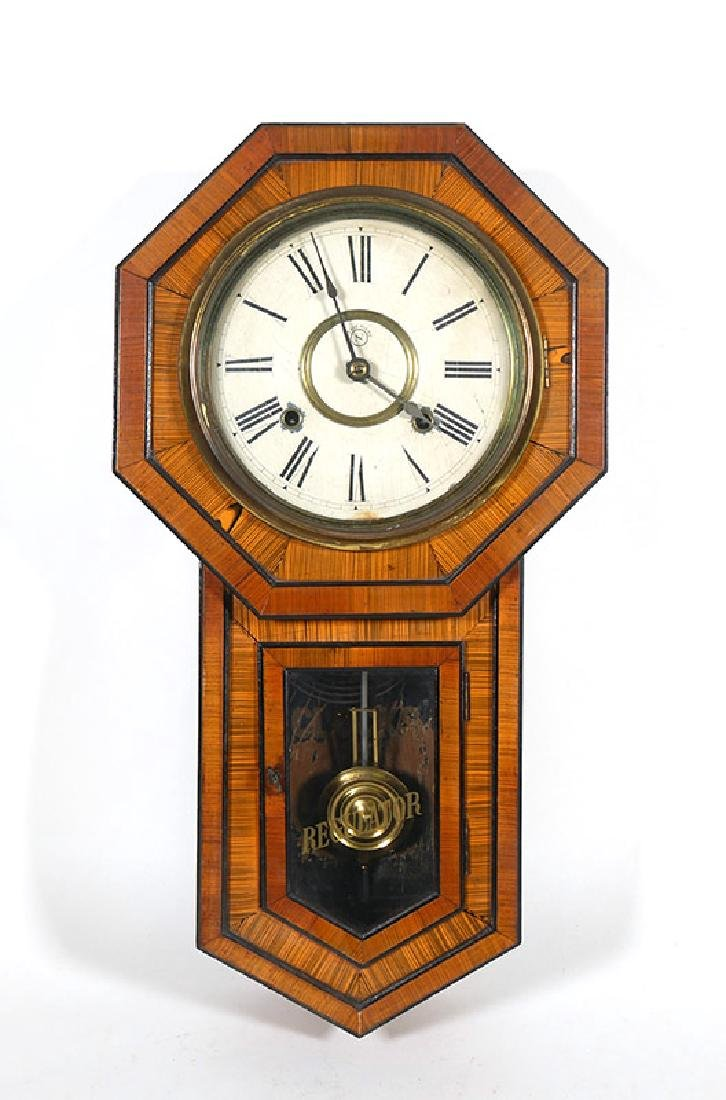 Seikosha Regulator Schoolhouse Wall Clock