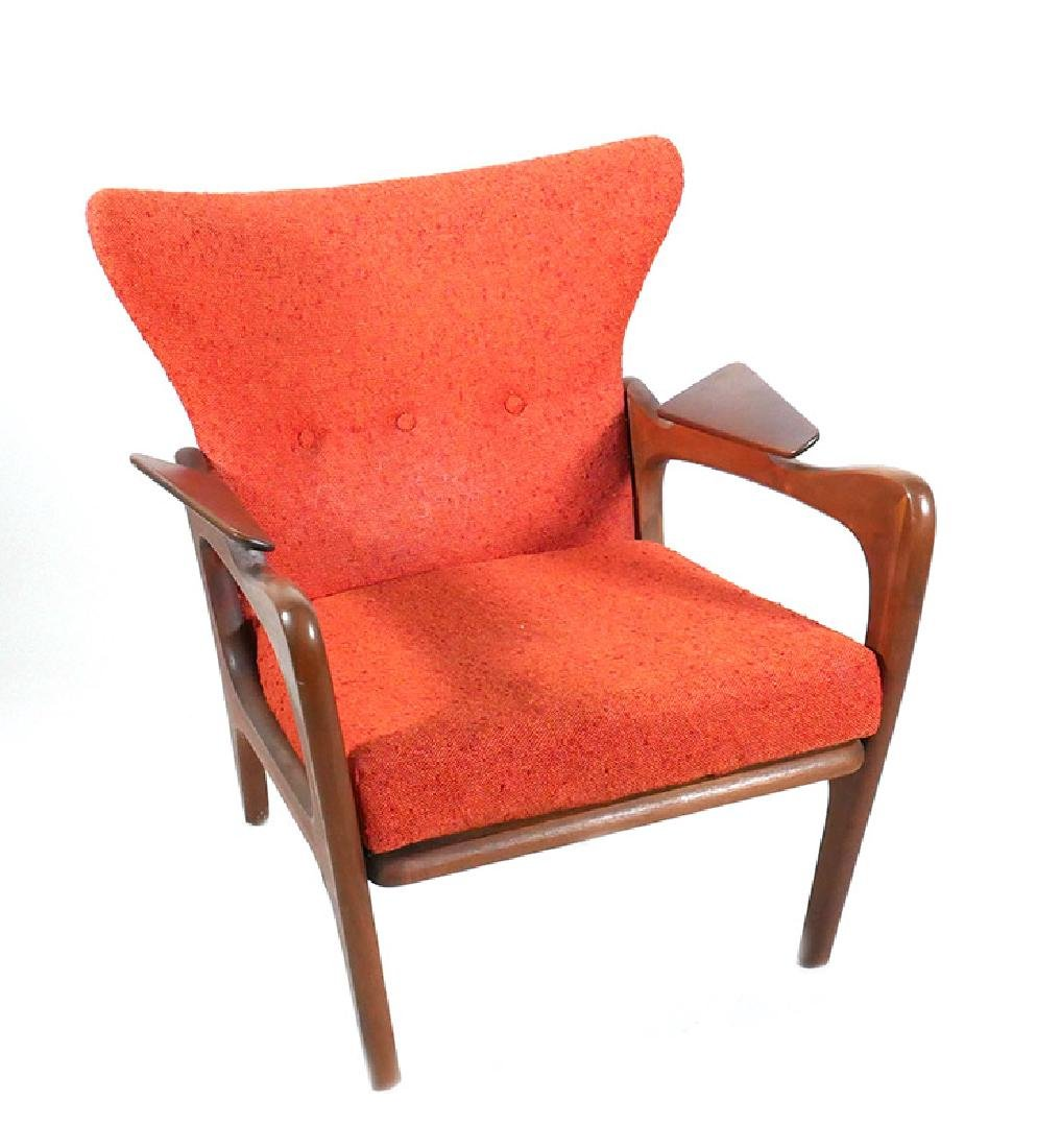 Adrian Pearsall Wingback Vintage Lounge Chair