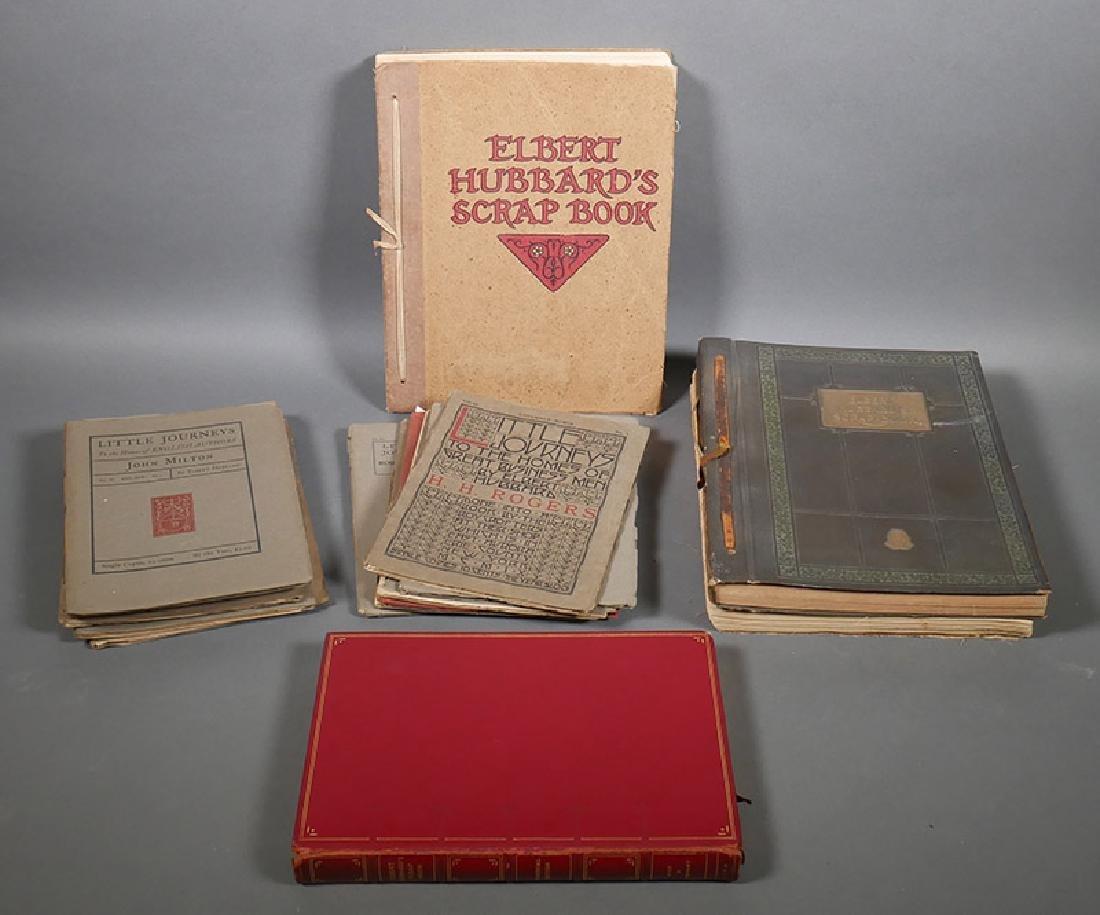 Elbert Hubbard Scrapbooks, Roycrofters Journeys