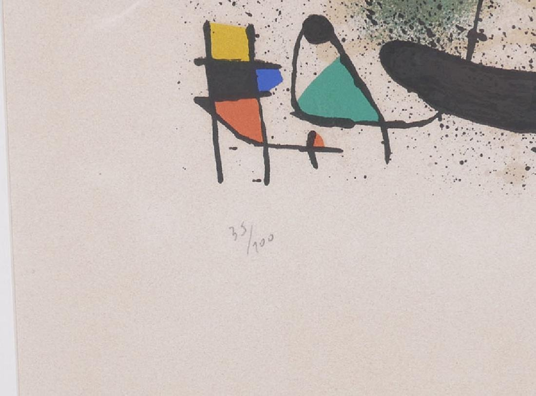 Joan Miro Lithograph Signed & Numbered to 100 - 3