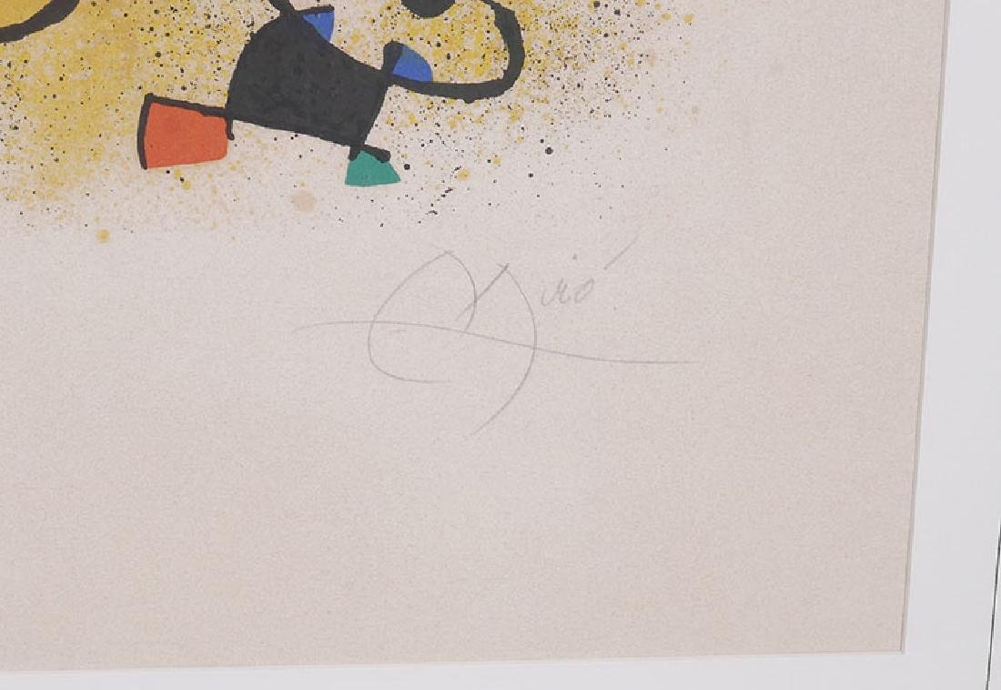 Joan Miro Lithograph Signed & Numbered to 100 - 4