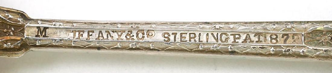 "12 Tiffany & Co 1872 ""Persian"" Demitasse Spoons - 6"