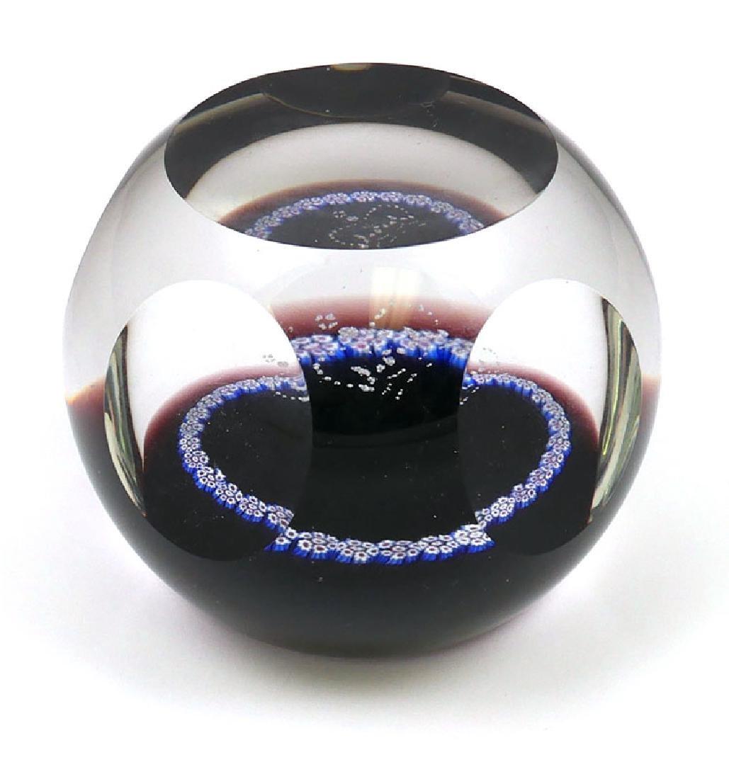 Caithness Scotland Art Glass Paperweight