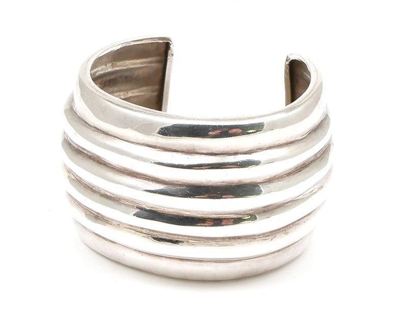Vintage Los Ballesteros Sterling Cuff Bracelet