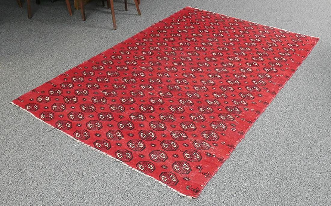 Antique Hand Knotted Bokhara Rug 80-100 Yrs Old