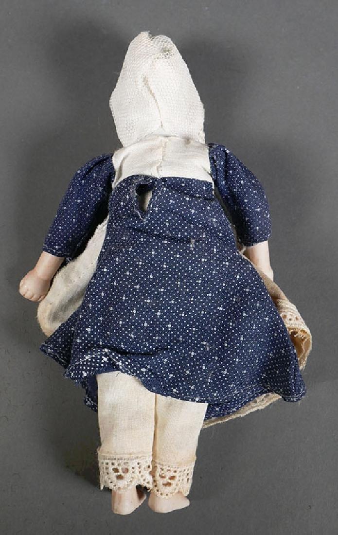 """Antique Bisque Head Doll 8"""" - 5"""