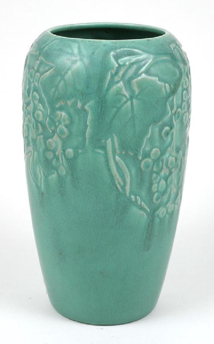 Vintage Rookwood Pottery Vase Grape Vine Motif