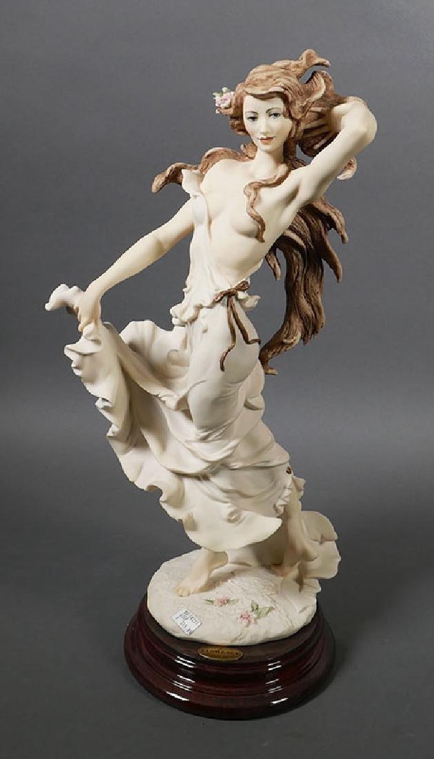 "Giuseppe Armani Sculpture ""Wisteria"" Draped Nude"